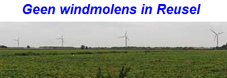Geen windmolens in Reusel